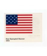 FDC POSTCARD-STARS & STRIPES SERIES-STAR SPANGLED BANNER 1814- ARTCRAFT ... - $1.23