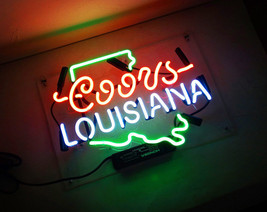 "New Coors Louisiana Handcraft Home Wall Man Cave Lamp Art Sign Neon Sign 11"" by  - $59.00"