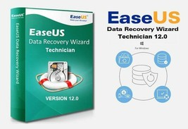 EASEUS DATA RECOVERY WIZARD 12.0 TECHNICIAN + SERIAL KEY LIFE TIME ACTIV... - $24.99