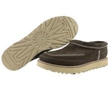 UGG Moccasins Size 11 Mens Campfire Slip On Stout Brown Leather Nubuck Stitched - $129.95