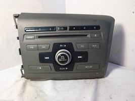 2012 12 Honda Civic Radio Cd Player  39100-TR0-A315 2BC6  FMA6381 - $20.79