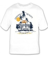 Corona Beer Trademark Logo Beer T Shirt Choose Size S M L XL 2XL 3XL 4XL... - $17.49+