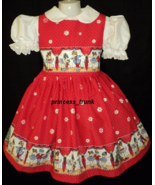 NEW Handmade Daisy Kingdom Nutcracker Sparkle Christmas Dress Custom 12M... - $69.98
