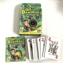 Go Bananas! 12 Minute Card Game By Gamewright 2-5 Players Ages 6+ BEST T... - $4.94