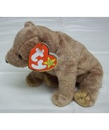 Ty Beanie Babies Pecan the Bear Stuffed Plush Animal - $5.96