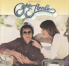 Captain & Tennille Song Of Joy Vinyl LP Record Album - $12.99