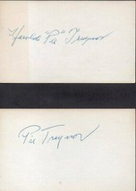 """HAROLD """"PIE"""" TRAYNOR Autograph. NIcely signed on 3x5 - $193.05"""