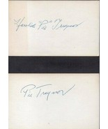 "HAROLD ""PIE"" TRAYNOR Autograph. NIcely signed on 3x5 - $193.05"