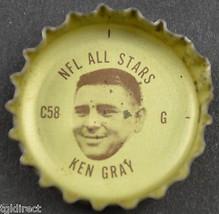 Vintage Coca Cola NFL All Stars Bottle Cap St. Louis Cardinals Ken Gray Coke - $6.99