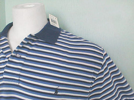 NEW! NWT! Polo Ralph Lauren Striped Polo Shirt!  M  *Shades of Blue and ... - $44.99