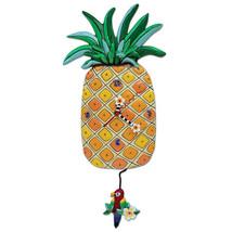 Allen Designs Island Time Pineapple Pendulum Wall Clock - $54.00