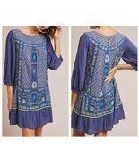 Anthropologie Patna Embroidered Tunic Dress by Akemi+Kin Sz 6 - NWT - $138.59