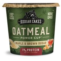 Kodiak Cakes Oatmeal  Maple & Brown Sugar Instant Oatmeal, 2.12 Oz 4 cups - $13.00