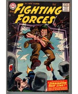 OUR FIGHTING FORCES #19 1957-DC WAR COMICS--WW II--HIGH GRADE - $212.19