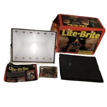 Vintage Hasbro Lite-Brite Light Bright w/ Pegs & Pictures in Original Box WORKS - $197.99