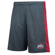 Ohio State Buckeyes Men's Shorts Heathered OSU Fan Short Licensed NEW