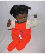 "SWEET Vintage 19"" Collette BLACK BABY Doll - $76.25"