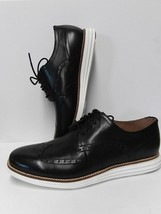 Cole Haan Men's Original Grand Shortwing Oxford Shoe - Black/White New! - $99.99