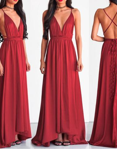 chiffon prom dresses,burgundy long prom dress,2018 prom dresses,BD172614