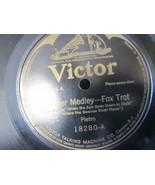 "10"" 78 rpm RECORD VICTOR 18280 PIETRO WINNER MEDLEY / DANDY MEDLEY FOX TROTS - £7.59 GBP"