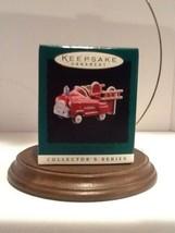 Hallmark Miniature Kiddie Car Classic #2 - Murray Fire Truck - 1996 - QXM4031  - $3.95