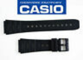 Genuine CASIO RUBBER RESIN WATCH BAND STRAP W520U CA53W CA61W W720 FT100W - $11.65