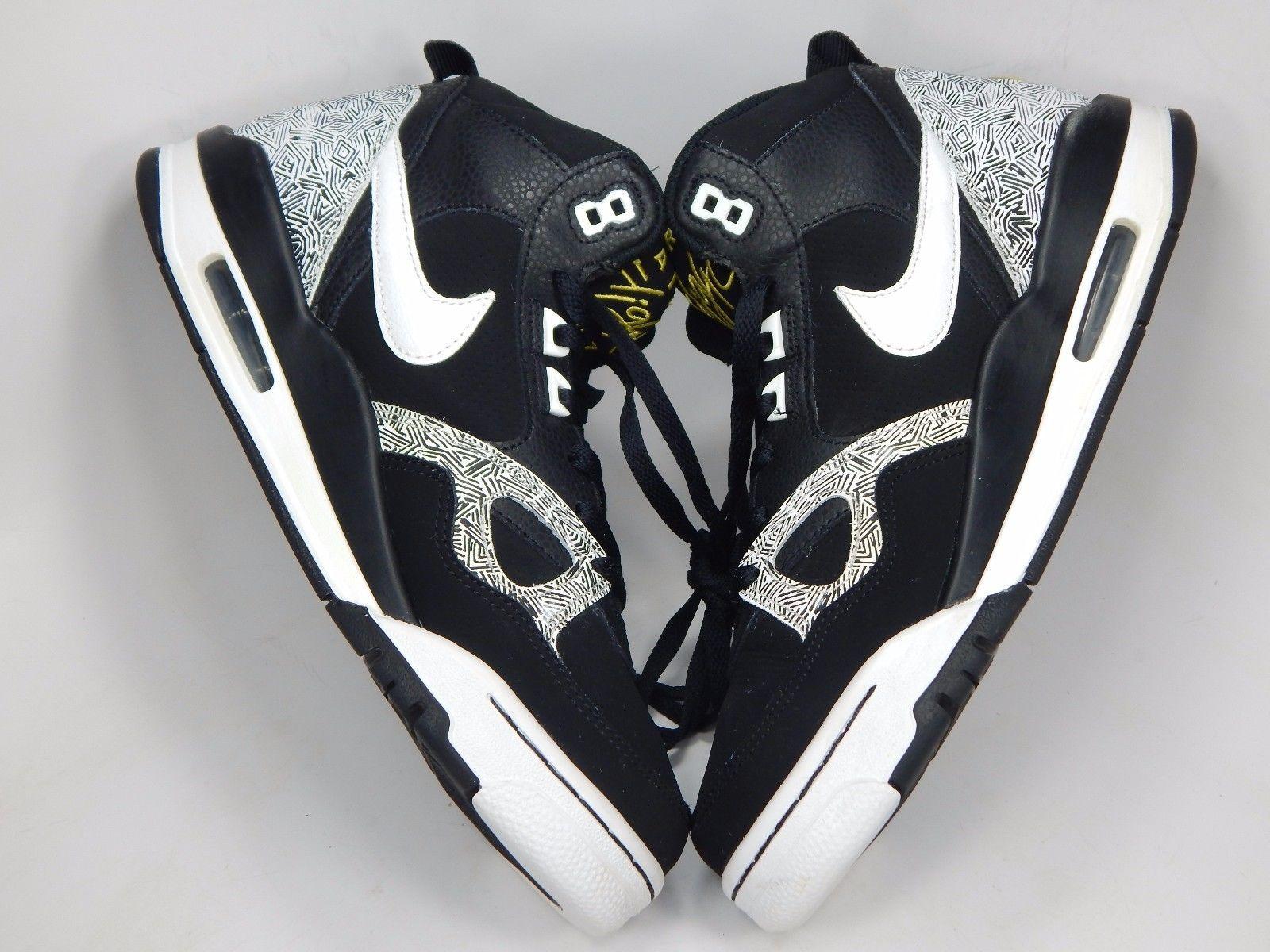 Nike Flight 13 Mid Top Men's Basketball Shoes Size US 9 M (D) EU 42.5 579961-008