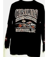 Harley Davidson Tshirt Charity Ride Kyle Petty Chic Filet Long Sleeve - $14.52
