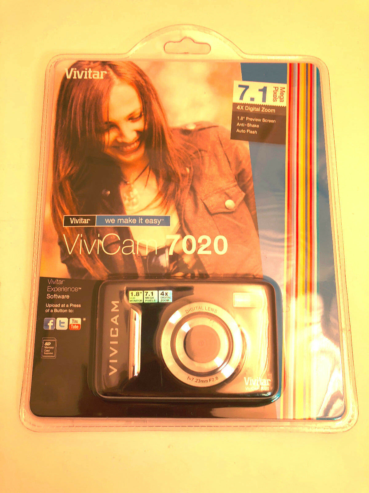 Primary image for Vivitar Vivicam 7020 - Black