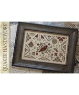 Quaker Handework cross stitch chart With Thy Needle Brenda Gervais  - $10.80