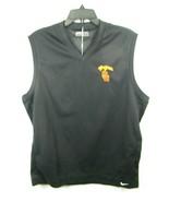 NWT Nike Golf USC Trojans Size L Black DryFit Polyester Vest Shield Wind - $49.45