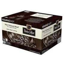 Peet's Coffee Major Dickason's Blend, Dark Roast (75 K-Cups) (pack of 2) - $109.76