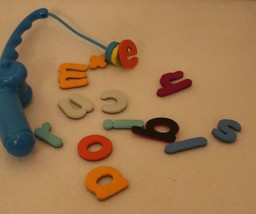 Cranium Polar Bear A-B-C Spelling Game Replacement magnet Fishing Pole & letters - $24.95