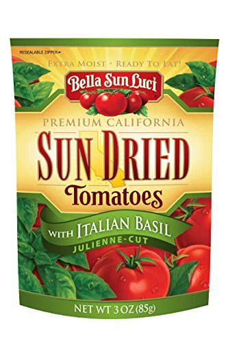 Primary image for 3 oz Bella Sun Luci Sun Dried Tomatoes Italian Basil