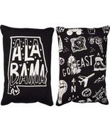 Alabama State Pillow Primitives by Kathy Black White 8 x 12 - $9.95