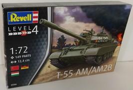 Revell 1/72 T-55 AM AM2B NVA Plastic Model Kit - $13.00