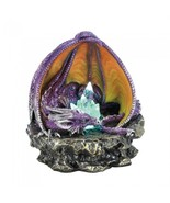 PURPLE LOUNGING DRAGON WITH LIGHT - NEW! - $24.99