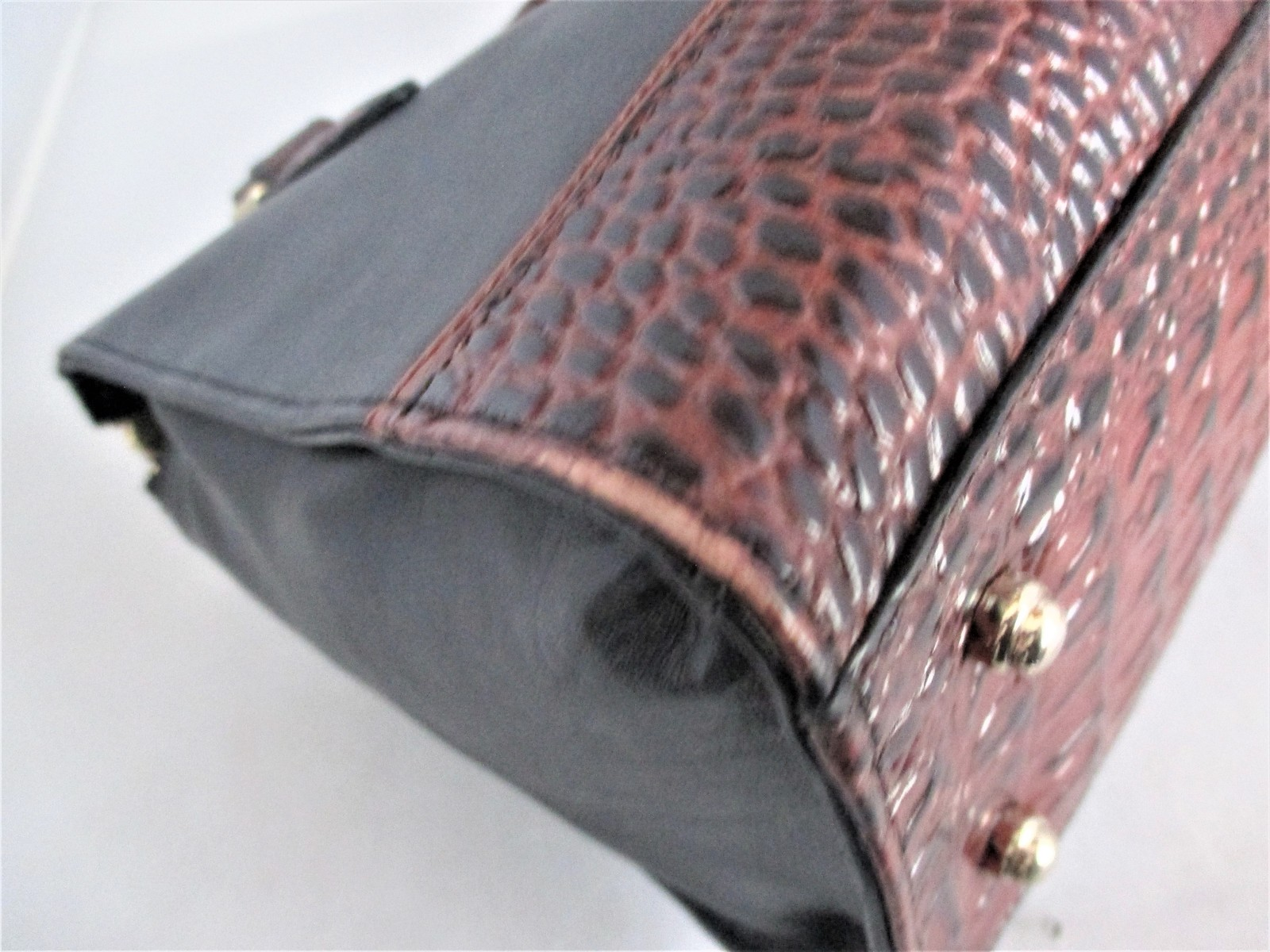 Brahmin Tuscan Tri-Texture Anywhere Convertible Satchel, Shoulder Bag,Tote $255 image 14