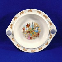 Vintage BUNNYKINS Porcelain Warming Warmer Bowl Royal Doulton England 1959-1975 - $39.50
