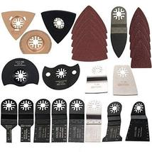 HAOLI 66 pcs/set Oscillating Tool Saw Blades For Fein Multimaster,Dremel,Bosch M - $24.72