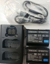 ENEGON WORLDWIDE TRAVEL MULTIPLE WAYS  CAMERA CHARGER FOR NIKON ENEL15 - $37.39