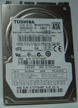 "New 60GB 2.5"" 9.5mm SATA Drive Toshiba MK6037GSX HDD2D63 Free USA Shipping"