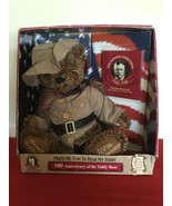 100th Anniversary of The Teddy Bear Limited Edition Plush + Book Rooseve... - $65.00