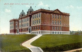 North High School Syracuse New York Post Card vintage 1910 - $6.00
