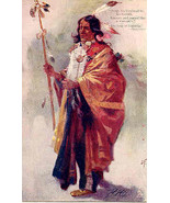 From His Head Fell His Tresses Tucks Vintage Post Card  - $15.00