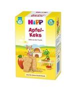 HiPP ORGANIC Baby Keks- APPLE Biscuits for babies-TEETHING -DAMAGED SaLe - $8.79