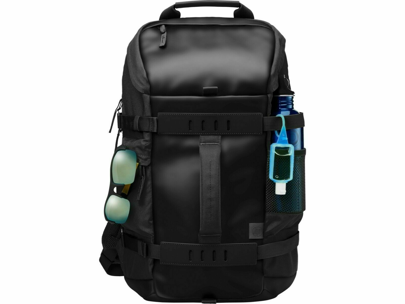 "Primary image for HP Black Odyssey Trendsetting Design Backpack fits Devices up to 15.6"" 39.62 cm"