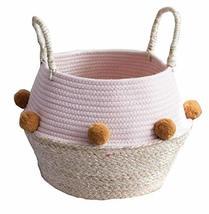 Black Temptation Woven Storage Basket European Style Household Storage C... - £28.45 GBP