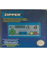 ORIGINAL Vintage Beeshu Nintendo NES Zipper Turbo Blue Controller Empty Box - $59.39