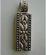 Sterling Silver Pendant Balinese  - $19.00